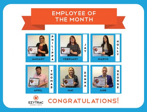 Congratulations to our Employees of the Month from January until June 2019