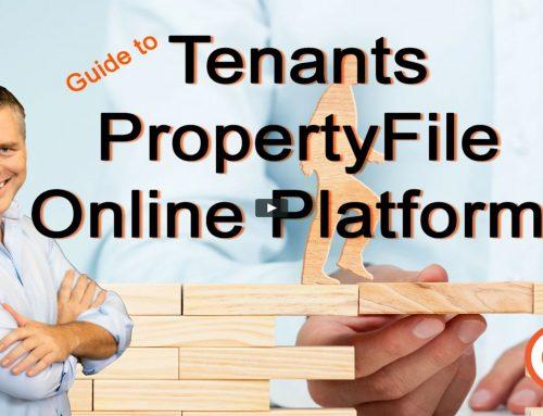 Guide to Tenants Property File Online Platform