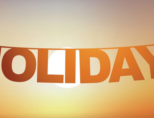 What should a landlord do when they go on holiday?