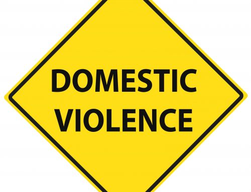 What should buy-to-let landlords do about domestic abuse in their property?