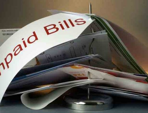 What should you do if your tenant leaves and owes on utility bills?